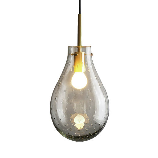 Lampe Dråpe Dugg antikkgrå MPM Interiør